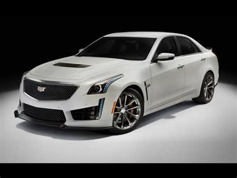 The New 2018 Cadillac Ctsv 62l ☆ Supercharged V8 Engine