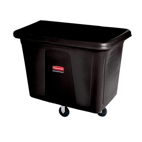 rubbermaid commercial products 8 cu ft cube truck