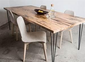 Tische Und Tischplatten Aus Massivholz Mbel Im