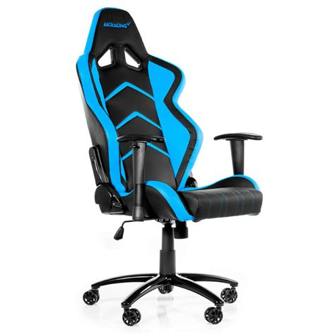 siege gaming akracing player gaming chair bleu fauteuil gamer