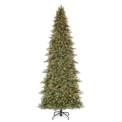 national tree company 12 ft tiffany fir medium artificial christmas tree with clear lights tfmh