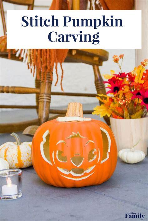 Disney Pumpkin Carving Templates by Stitch Pumpkin Carving Disney Family
