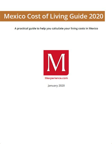 Mexico Cost of Living Guide 2020 – 2021 | Mexperience