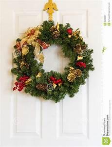 Weihnachtskranz Für Tür : weihnachtskranz auf t r stockbild bild 35288081 ~ Sanjose-hotels-ca.com Haus und Dekorationen