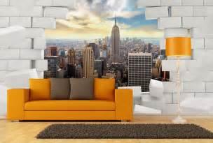 Papier Peint Brique New York by Papier Peint New York Derri 232 Re Ce Mur De Briques Break