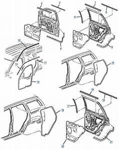 Jeep Grand Cherokee Wj Door Seals And Trim