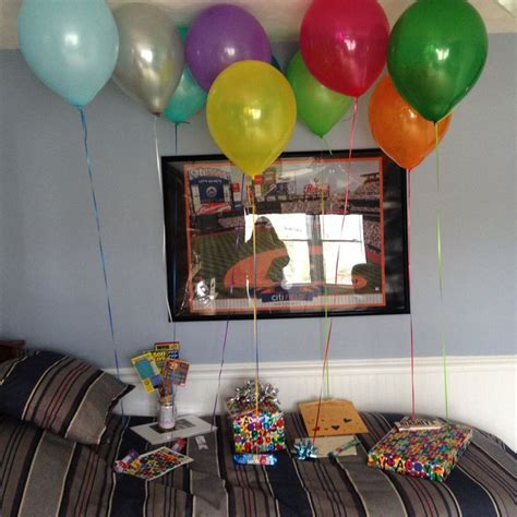 Boyfriends Birthday Surprise!  Ideas Pinterest
