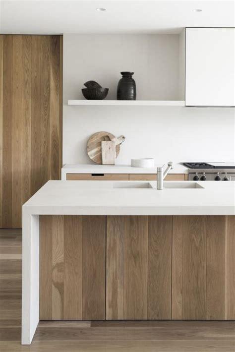 cuisine bois blanche affordable cuisine blanche et bois dco cuisine bois et