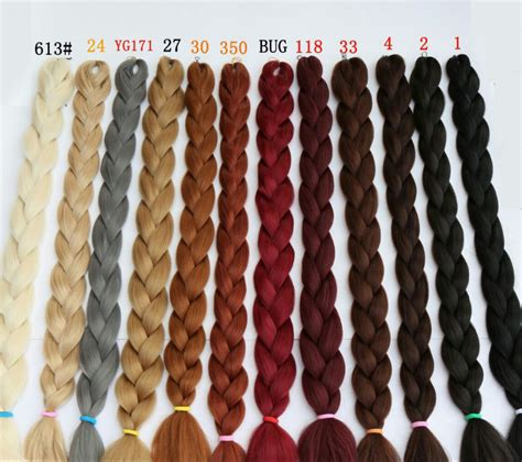 braiding hair color chart 165g synthetic braiding hair extensions twists 82 purple