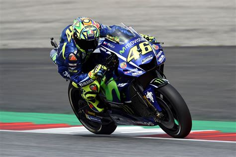 Rossi Rides Prototype 2018 Bike At Misano Test