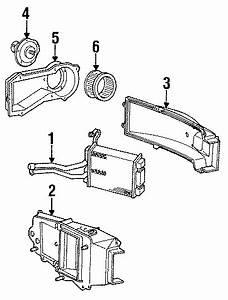 Chevrolet S10 Blazer Hvac Blower Motor