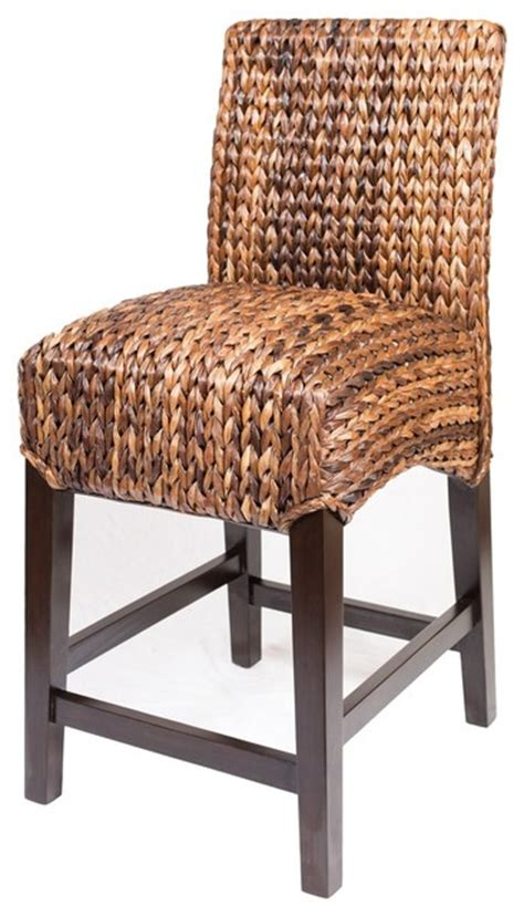 bird rock seagrass stool tropical bar stools and