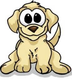 Cute Cartoon Puppies