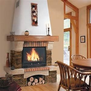 Insert Ou Poele : cheminee avec insert ou foyer ferme ~ Farleysfitness.com Idées de Décoration