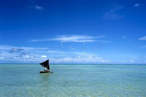 Kiribati & Tuvalu   Sailing Canoe in Tarawa Lagoon   KI ...