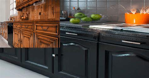 exemple de cuisine repeinte comment repeindre une cuisine en chêne renovationmaison fr