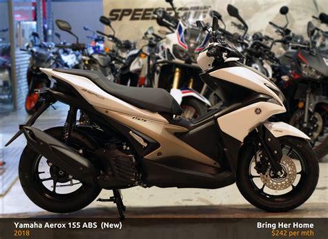Yamaha Aerox 155 Abs 2018 (new)
