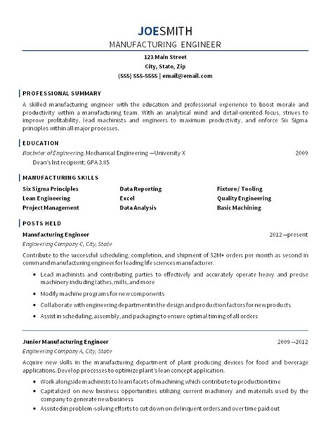 cover letter for production engineer ideas production