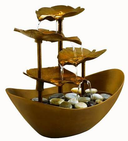 Fountain Water Fountains Indoor Copper Tabletop Feng