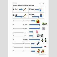 This, That, These, Those Worksheet  Free Esl Printable Worksheets Made By Teachers
