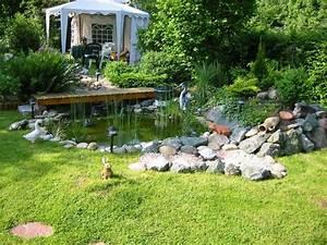 Teich Im Garten : mein teich im garten foto bild landschaft wasserf lle ~ Lizthompson.info Haus und Dekorationen