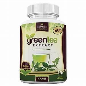 Botanica Green Tea Extract Fat Burner Supplement - With Egcg Antioxidant A