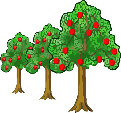 Apple Tree Clipart Clipart Black And White Apple Tree Techflourish