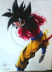 Goku Super Saiyan 4 Kamehameha