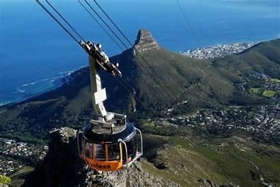 Cape Town Mountain Table Left Sho