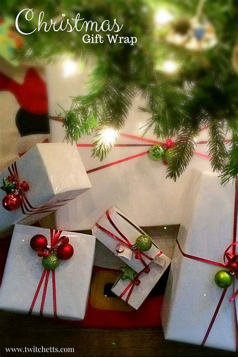 Simple And Fun Christmas Gift Wrap Twitchetts