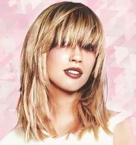 Coupe Longue Femme : coupe cheveux mi longue pour femme ~ Dallasstarsshop.com Idées de Décoration