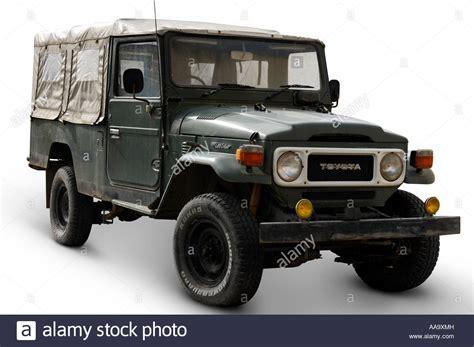 toyota land cruiser suv truck isolated  white cutout