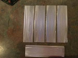 Metal Roofing For Scratch Built Model Railroad Train