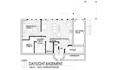 daylight basement plans daylight basement house plans ideas basements