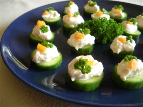 light cucumber canapes recipe canapes cucumber and