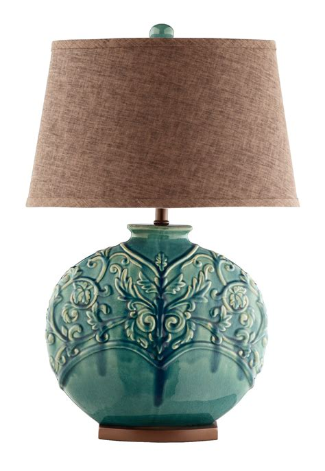 Turquoise Green Ceramic Table Lamp From Steinworld (90030. Convertible Dining Table. 60 In Round Table. Staples L Shaped Desk. Slim End Table. Twin Bed Frame With Drawers. Purple Crystal Drawer Knobs. Audio Desk Record Cleaner. Large Table Desk