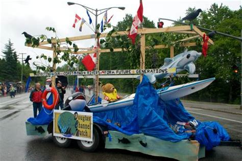 douglas channel watch wins best float in kitimat canada