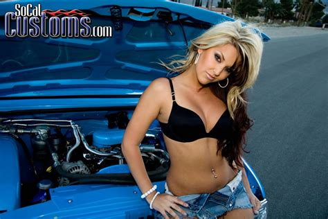 monster truck show for kids socal customs model brittany coppola and a blue chevy s 10