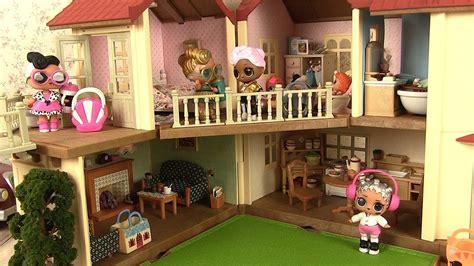 cuisine sylvanian poupées lol maison de poupées cuisine sylvanian families