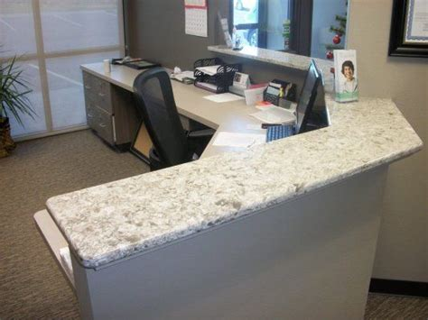 countertop desk for office 17 best images about reception desks on pinterest subaru