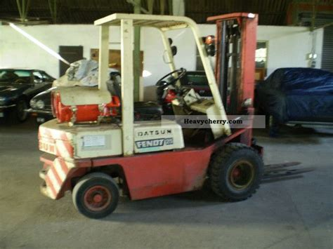 Datsun Forklift by Datsun 250 Tl Gas 1980 Front Mounted Forklift Truck Photo