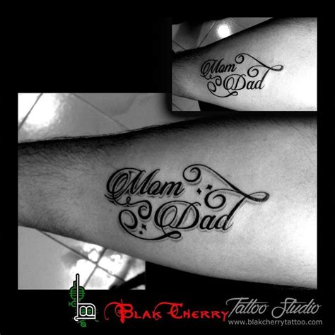 The 25 Best Mum And Dad Tattoos Ideas On Pinterest Dad Tattoo In