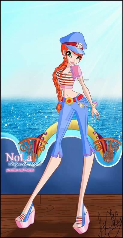 Nola Deviantart Odyssey Kaorimirai Winx Sailor Bloom