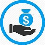 Icon Salary Pay Cash Money Bank Dollar