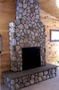 thin veneer river rock river rock fireplaces rock