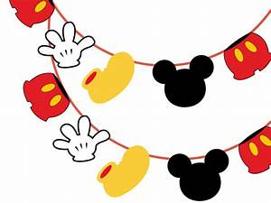 Mickey Mouse Banner - Magical Printable