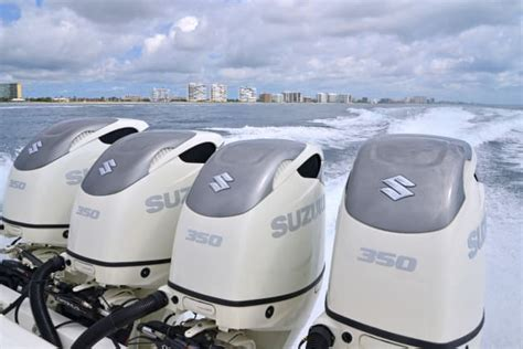 suzuki unleashes  ultimate  stroke outboard