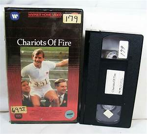 Chariots Of Fire Vhs Warner Home Video Clamshell Case