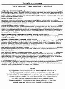 Volunteer Resume Hospital Volunteer Resume Example