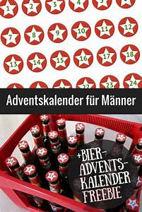 Bier Adventskalender Selber Machen : adventskalender f r m nner top 25 free printable ~ Frokenaadalensverden.com Haus und Dekorationen